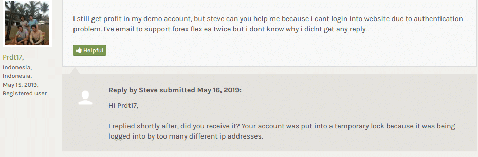 flex ea reviews from customers