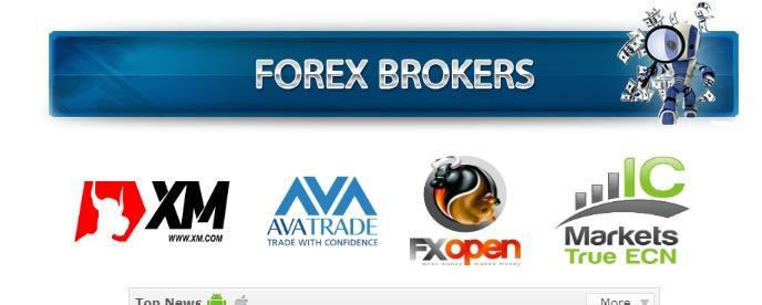 supported brokers by forex robotron