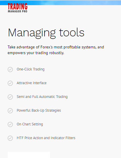 trading manager pro tools
