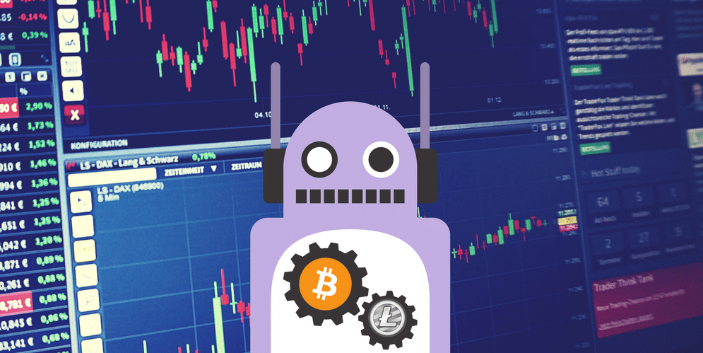 Using trading bots to deal with stock crash
