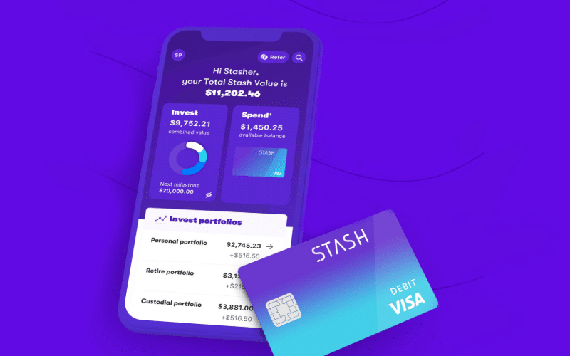 Stash Review: In-App Stash For Your Savings