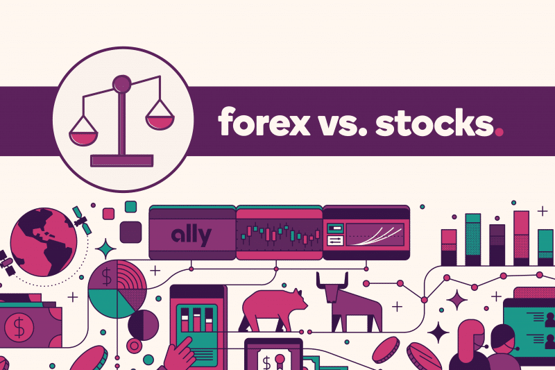 Differences between forex and stocks