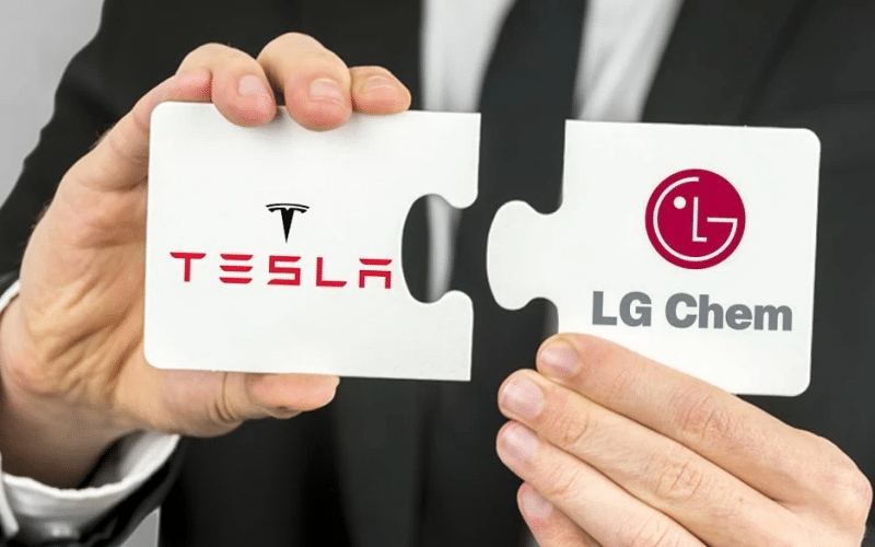 Tesla to Acquire a Stake in LG's Battery Business