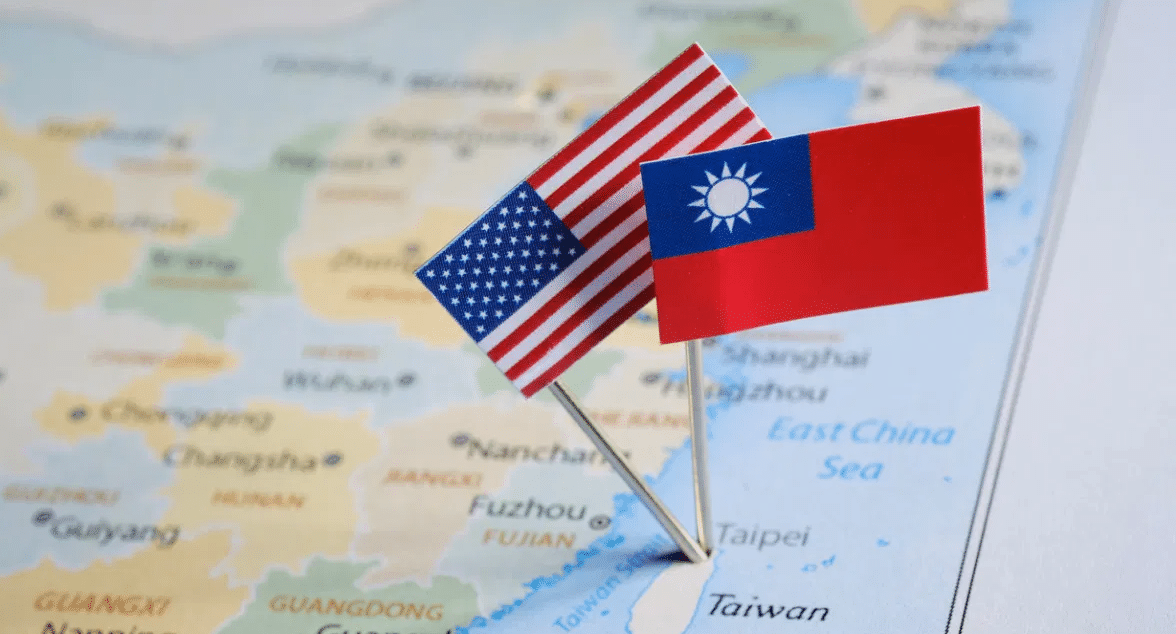 The U.S. is pushing Taiwan  weapon sales to deter China
