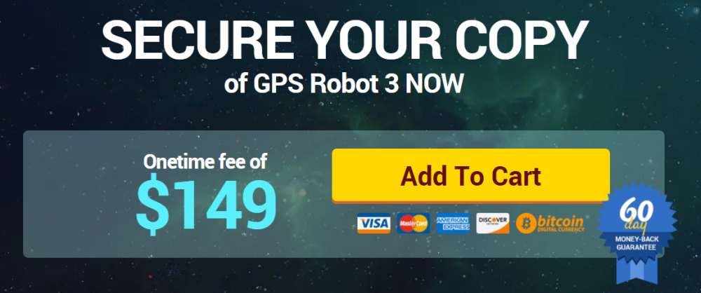 GPS Forex Robot cost
