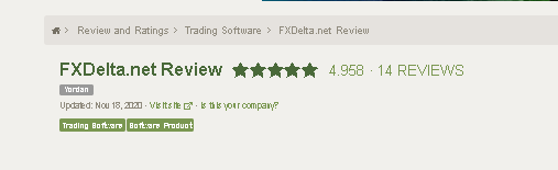 FX Delta Reviews from customers