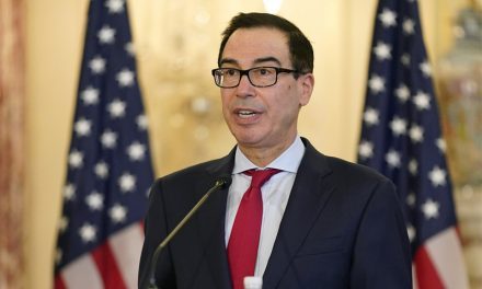 Mnuchin Downplays Feud with Fed. Has Up to $800 Billion to Spend