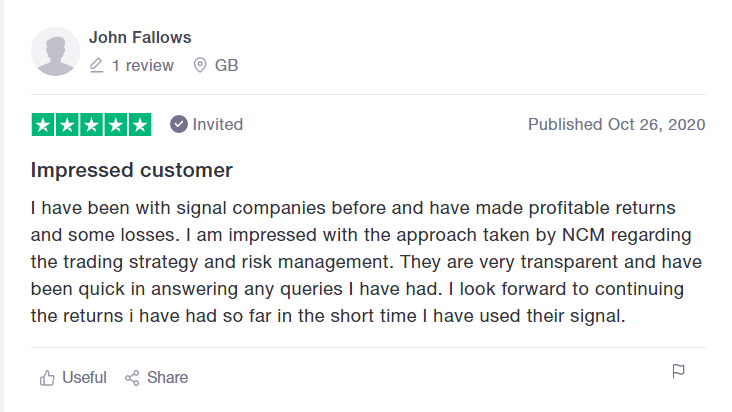 NCM Signal Reviews from customers