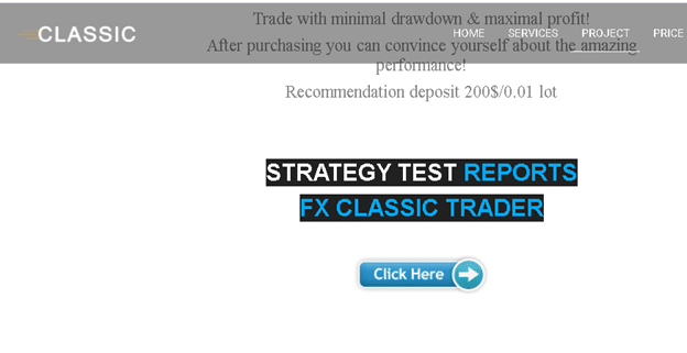 FX Classic Trader Trading Performance