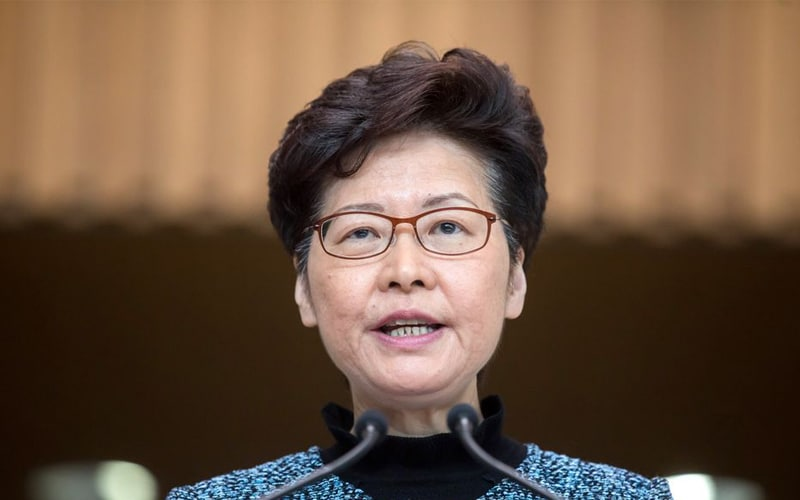 "Carrie Lam Is ""Optimistic"" Biden will Give ""a Fair Hearing"" to Hong Kong's Security Law"
