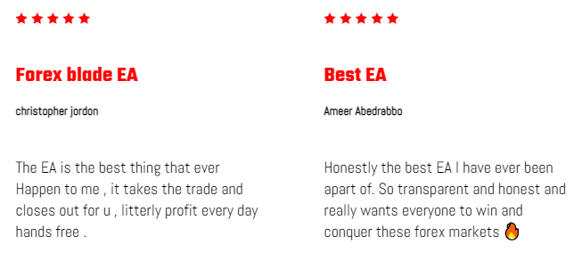 Forex Blade LLC Reviews from customers