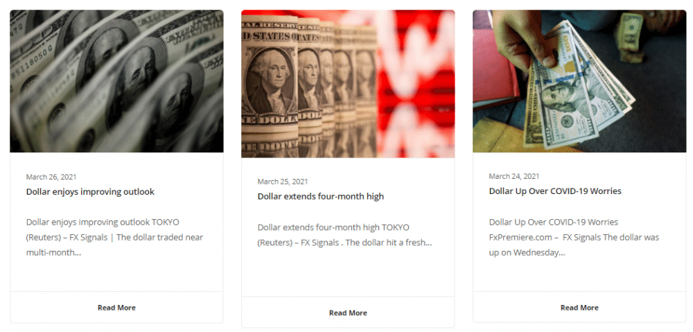 FX Premiere. There are many articles with updates, news, and trading ideas published.