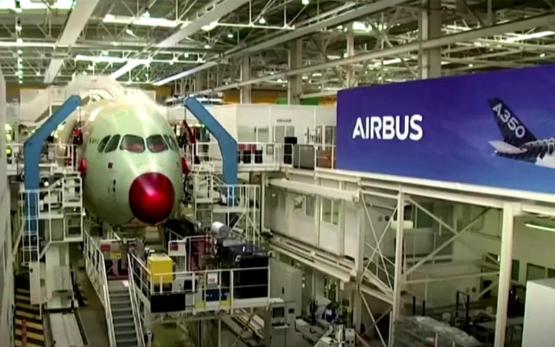 Airbus to Boost Jet Production Starting July
