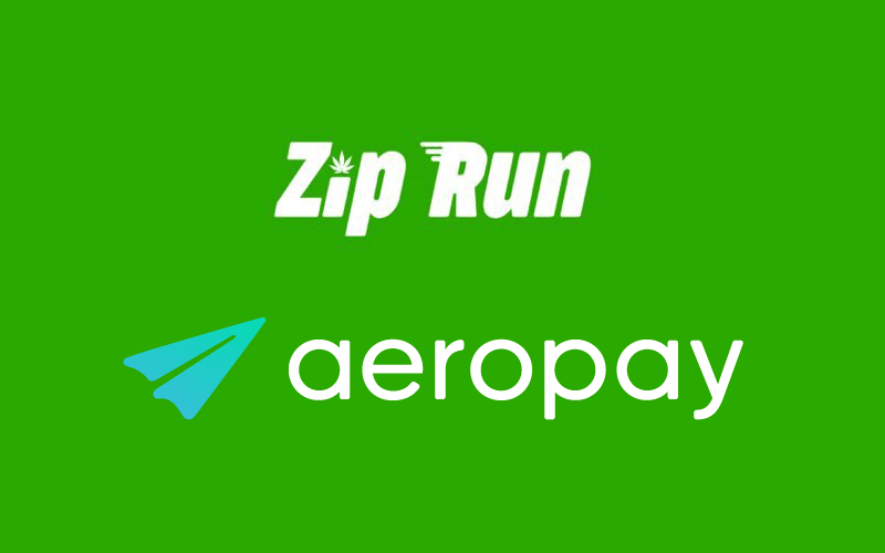 Cannabis Firms Zip Run and AeroPay Partner to Roll Out Integrated Delivery and Payment Service