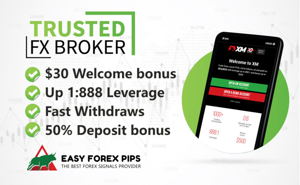 Easy Forex Pips. But on the site, they have an advertisement for the XM broker. It's a quite-known broker house.