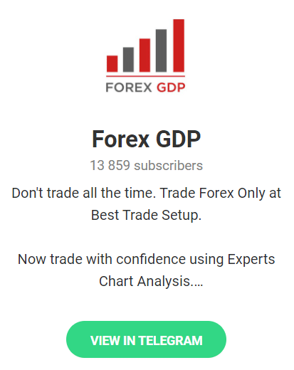 Forex GDP. There's a free signals Telegram channel with 13,859 users.