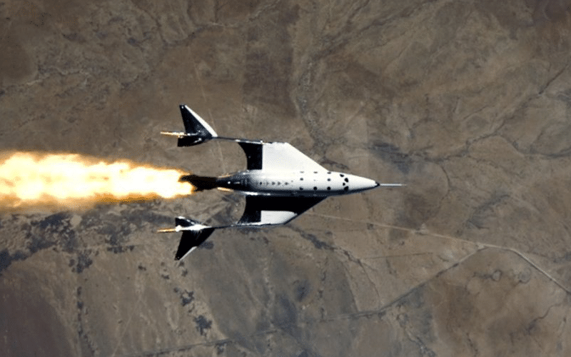 Virgin Galactic Welcomes Home First Spaceflight From New Mexico