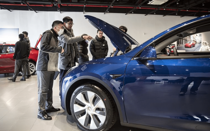 Tesla Sales in China Rebound in May After Production Halt in April