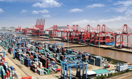 China's Major Port Partially Closed for Sixth Straight Day