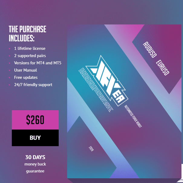 Pricing package of XFXEA.