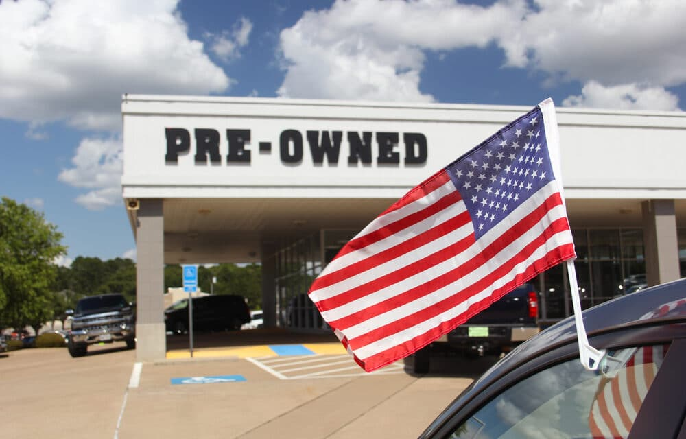 Pre-Owned Vehicle Sales Rebound to Pre-Pandemic Levels