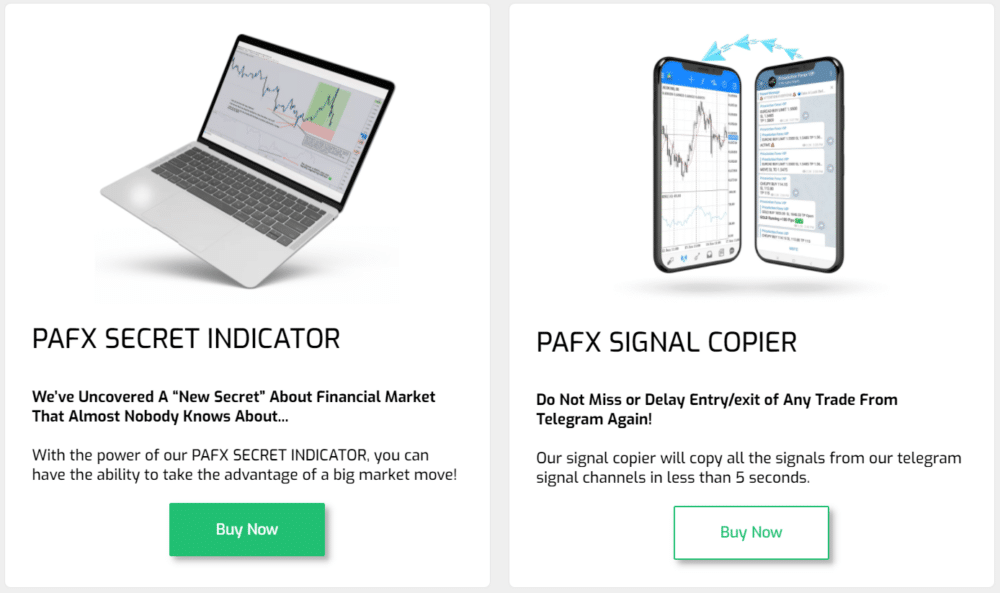 Price Action Forex products.