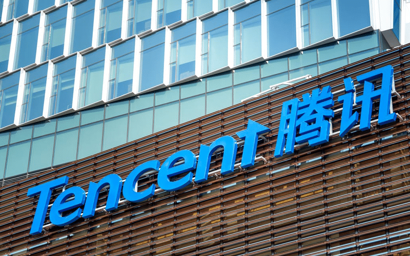 China's Tech Stocks Post Month-High on Tencent Buyback Program