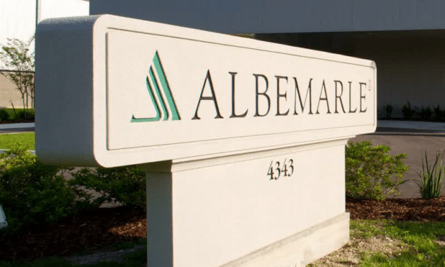 Albemarle to Boost Chinese Investments to Expand Lithium Conversion Capacity